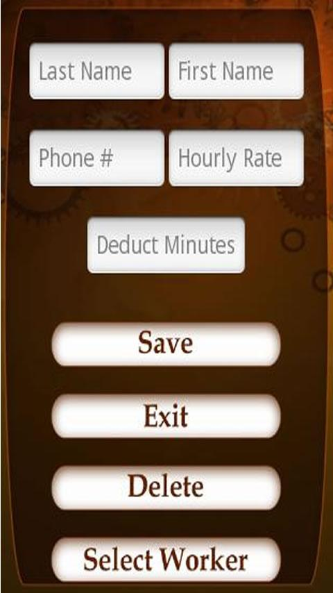 Contractors TimeClock Android Productivity