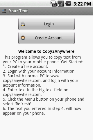 Copy 2 Anywhere Android Productivity