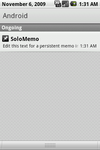 SoloMemo Android Productivity