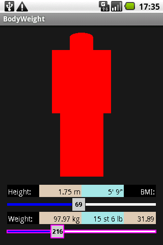 BodyWeight Android Health