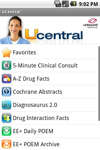 uCentral Android Medical