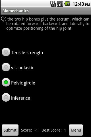 200 Biomechanics Terms & Quiz Android Health
