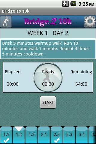 Bridge to 10k Android Health