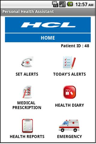HCL Health Diary Android Health & Fitness