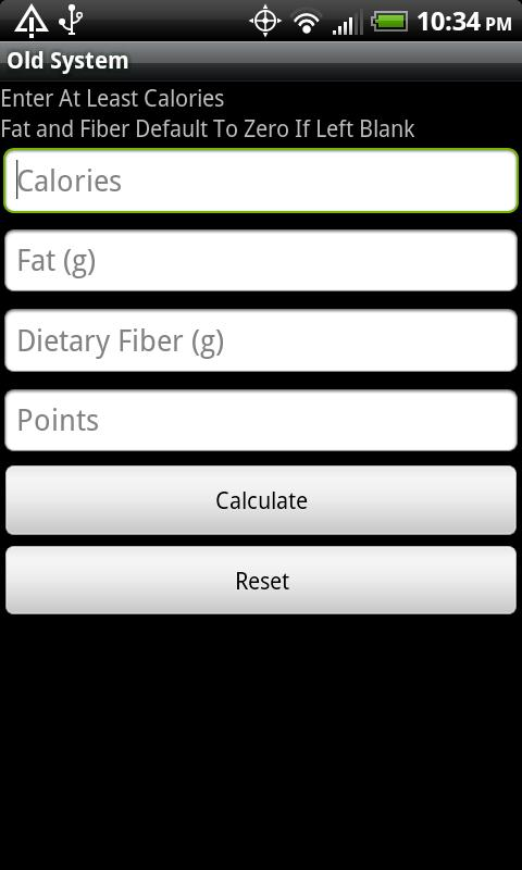 Points Counter Android Health & Fitness