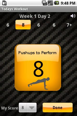 Pushups Demo Android Health