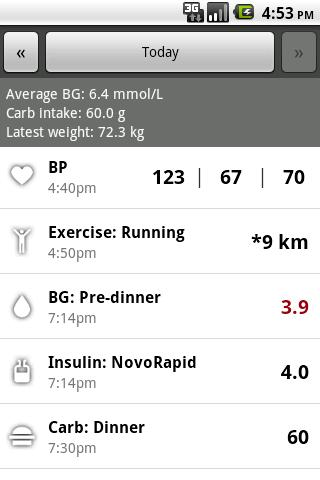Glucool Diabetes Lite Android Health