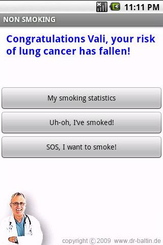 NON SMOKING Android Health