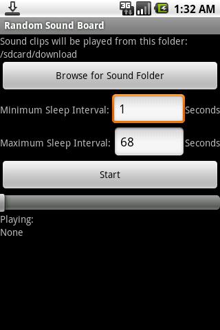 Random Sound Board Android Multimedia