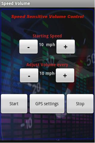 Speed Volume Android Multimedia