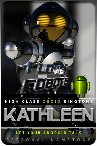 KATHLEEN nametone droid Android Multimedia