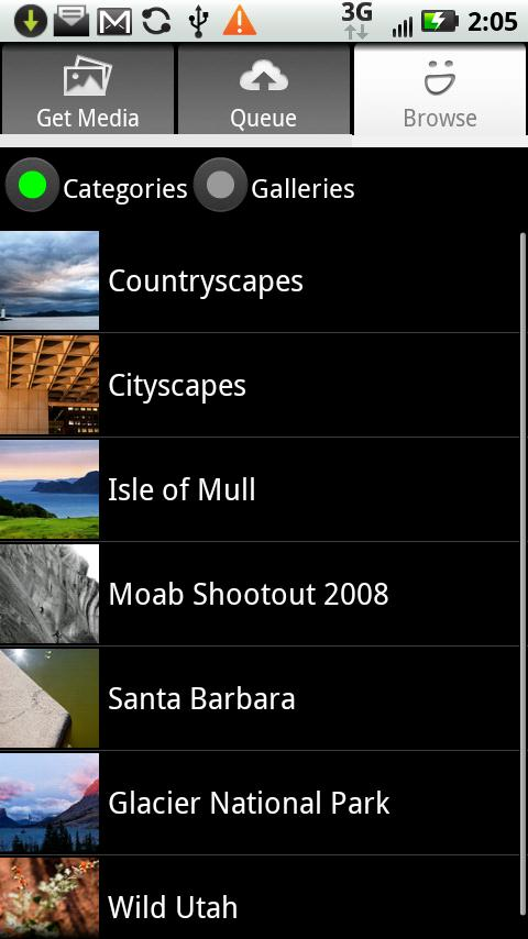 SmugMug Mobile Android Media & Video