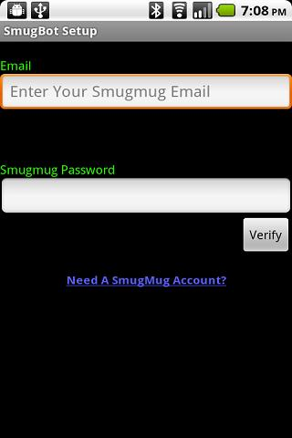 SmugBot Android Multimedia