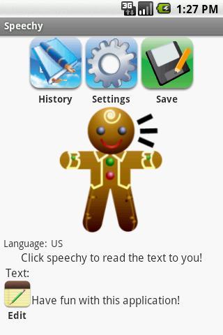 Speechy 1.5 Android Multimedia