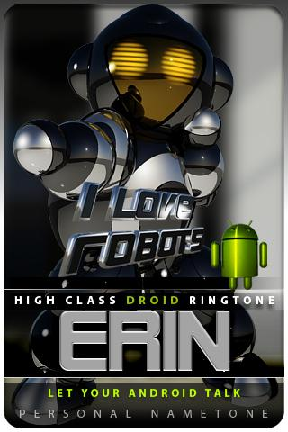 ERIN nametone droid Android Multimedia