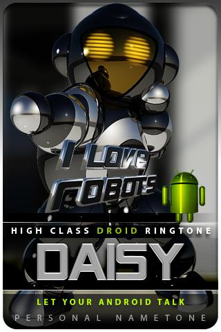 DAISY nametone droid Android Multimedia