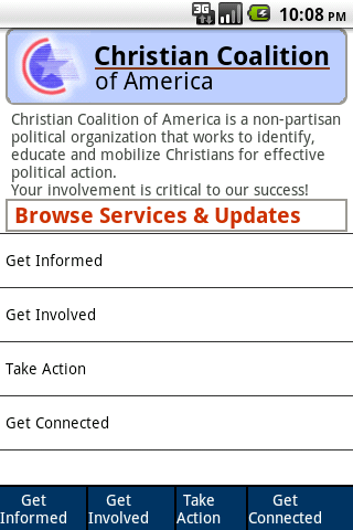 Christian Coalition Mobile Android Social
