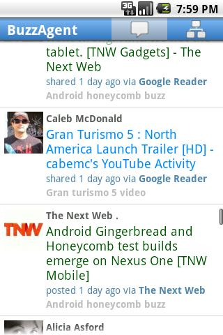 BuzzAgent Android Social
