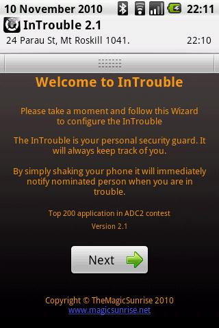 InTrouble Android Social