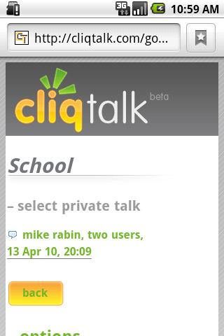 Cliqtalk Android Social