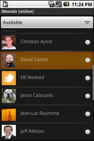 IMonAir Android Social