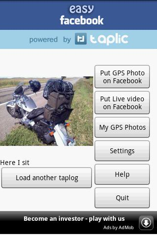 Facebook easy gps live video Android Social