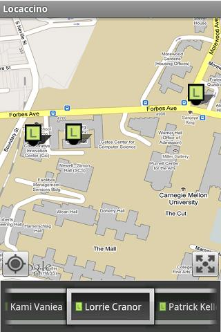Mobile Locaccino Android Social