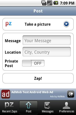 PhoneZap Android Social