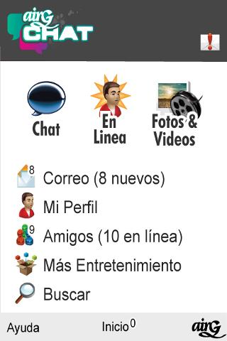 Airg chat for android