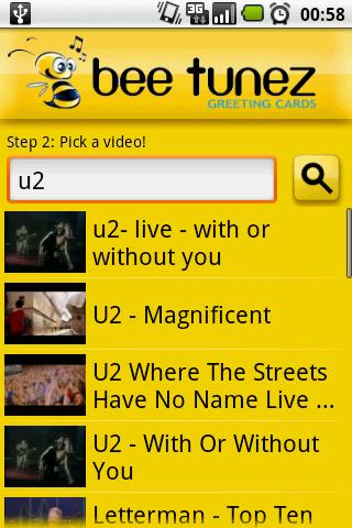 Bee Tunez Greeting Cards Android Social