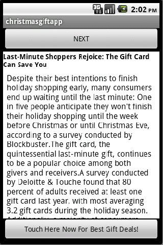 Best Christmas Gifts 2010 Android Shopping