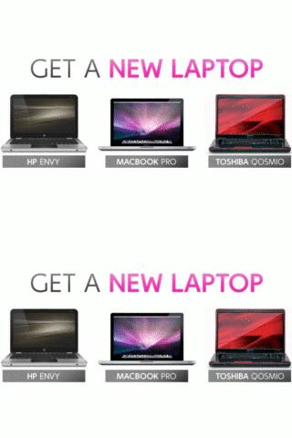 Choose your  FREE Laptop ! Android Shopping