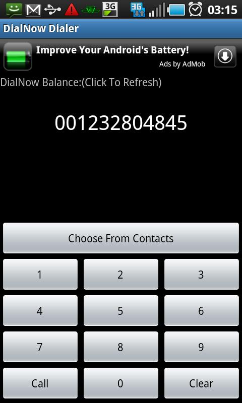 DialNow Dialer Android Communication