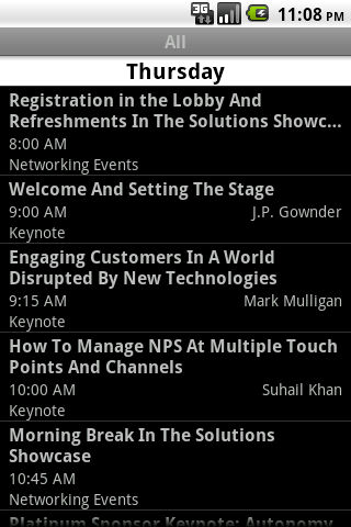 Forrester Marketing EMEA 2010 Android Communication
