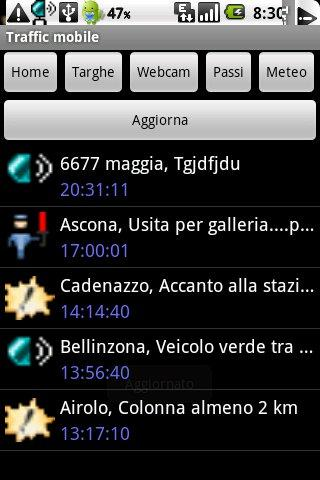 Trafficmobile Android Communication