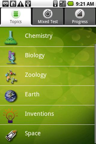 Science Challenge Android Communication