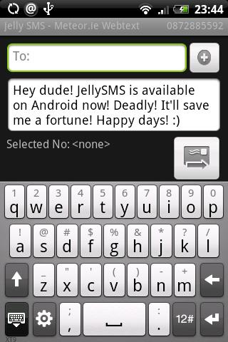 Jelly SMS Free Android Communication