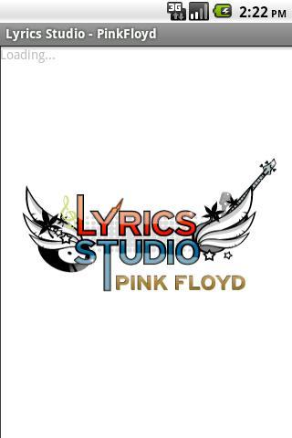 PinkFloyd Lyrics-Studio Android Entertainment
