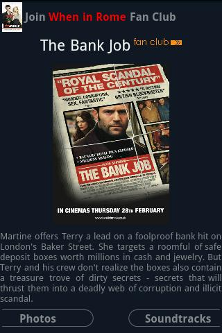 """The Bank Job"" Fans Android Entertainment"