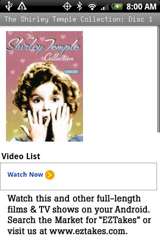 Shirley Temple Collection P1 Android Entertainment