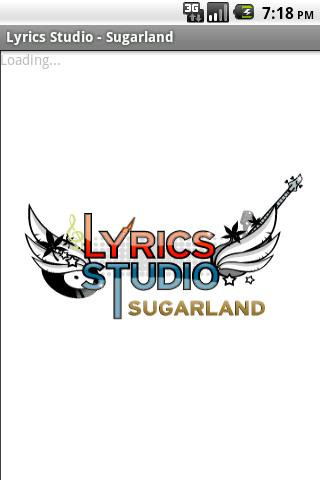 Sugarland Lyrics Studio Android Entertainment