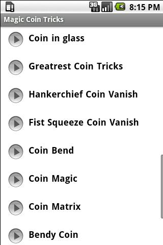 Magic Tricks – Coins Android Entertainment best android apps
