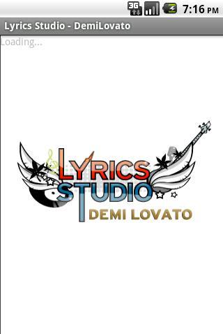 Demi Lovato Lyrics Studio Android Entertainment