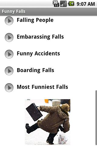 Funny Falls Android Entertainment