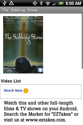The Sobbing Stone Movie Android Entertainment