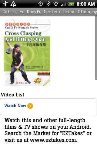 Cai Li Fo Kungfu Clasping Hit Android Entertainment
