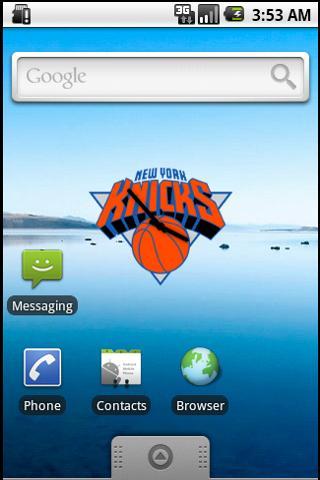 New York Knicks Clock Android Entertainment