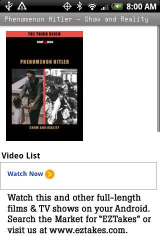 Phenomenon Hitler Show&Reality Android Entertainment