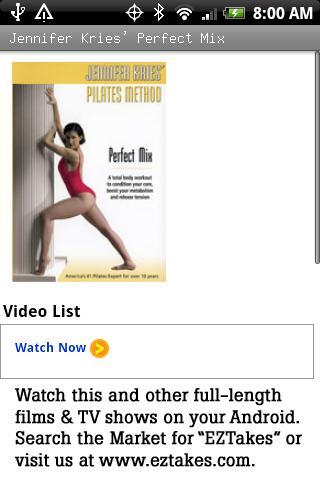 Jennifer Kries' Perfect Mix Android Entertainment