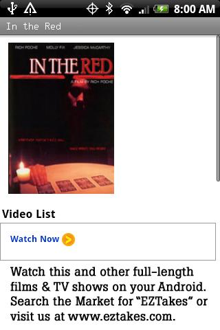 In the Red Movie Android Entertainment